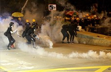 Könnygázzal oszlatták szét a hongkongi tüntetőket