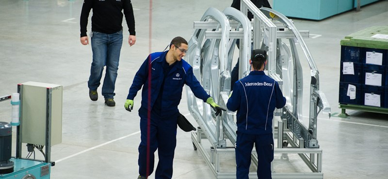 Meglepően erős volt a magyar ipar az év végén