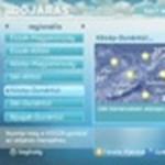 Digitális tévé: interaktív időjárás-jelentés és játékok (videóval)