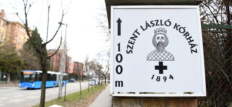 A Szent László kórház egyik nővére is megfertőződött koronavírussal