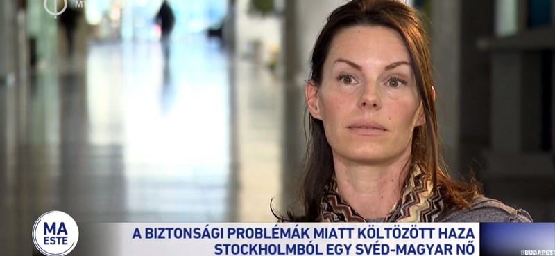 A Facebook leszedte a svéd-magyar nő interjúját a köztévé oldaláról