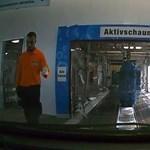 Ilyen belülről a világ legnagyobb autómosója – fedélzeti kamerás videó