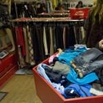 Összeomolhat a használt ruhák piaca