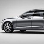 Egy héttel a premier előtt csak lebukott a Volvo V90