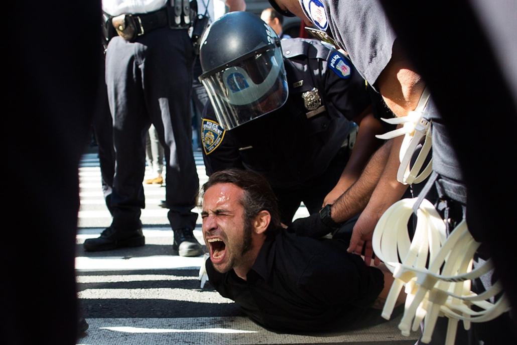 Wall Street-tüntetés az Egyesült Államokban, occupy,