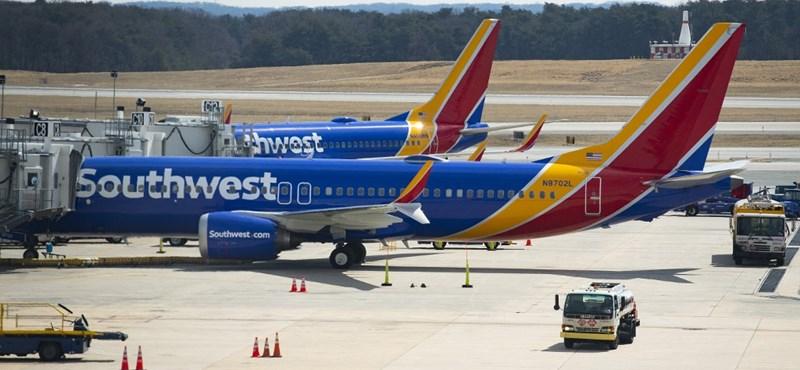 A nemi szervét mutogatta repülés közben a Southwest Airlines egyik volt pilótája