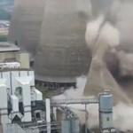 Videó: Ilyen szépen hal meg egy erőmű