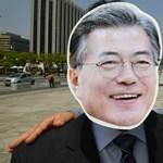 Kim Dzsong Un átlépte a határt, ő az első északi vezető délen