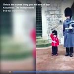 A négyéves royalista kisfiú megkapta élete legjobb szülinapi ajándékát