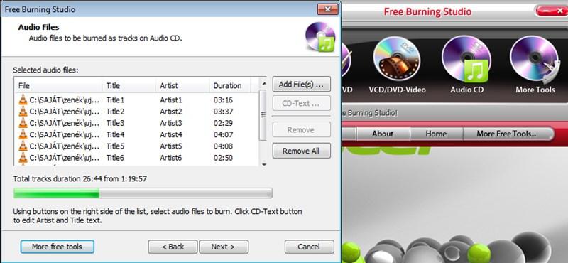 Érdemes kipróbálni: nagy tudású, ingyenes CD/DVD-író szoftver