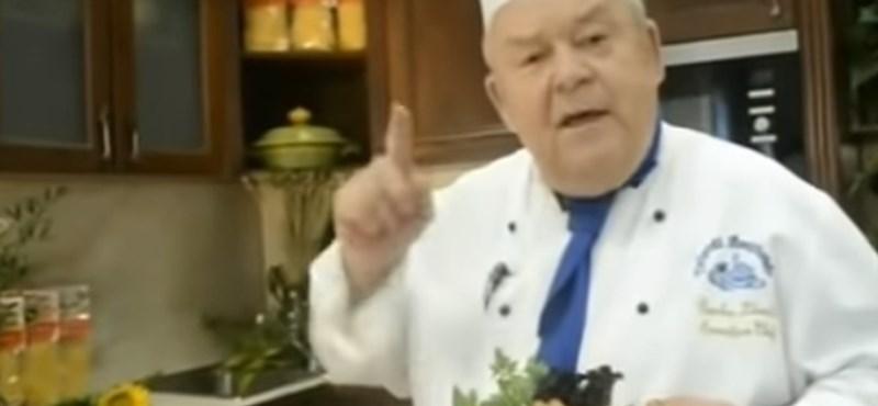 Meghalt Benke László mesterszakács