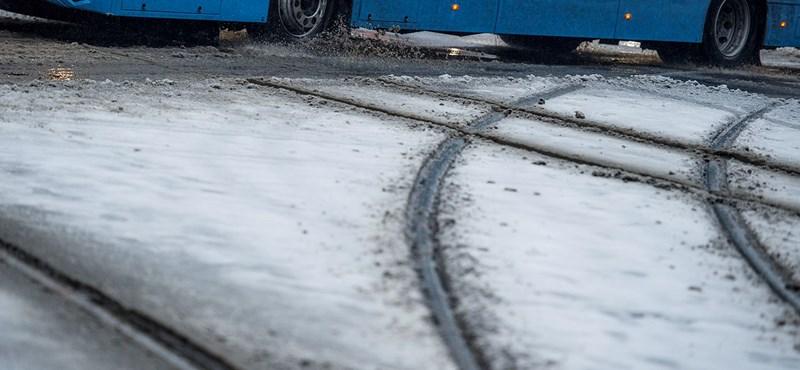 Hat megyében figyelmeztet ónos esőre a meteorológia