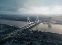 Drágult pár százmillióval az új budapesti Duna-hidakon átvezető út tervezése
