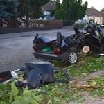 Borzalmas balesetet okozott Sarkadon egy ittas sofőr - videó