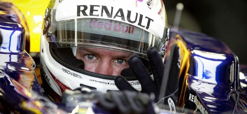 Forma-1: Vettel nyert Szingapúrban, de még nem világbajnok