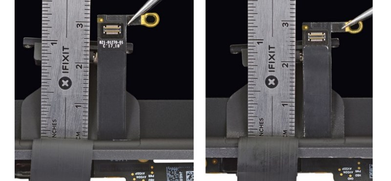 """+2 milliméterrel tett """"csodát"""" az Apple a MacBookokban"""