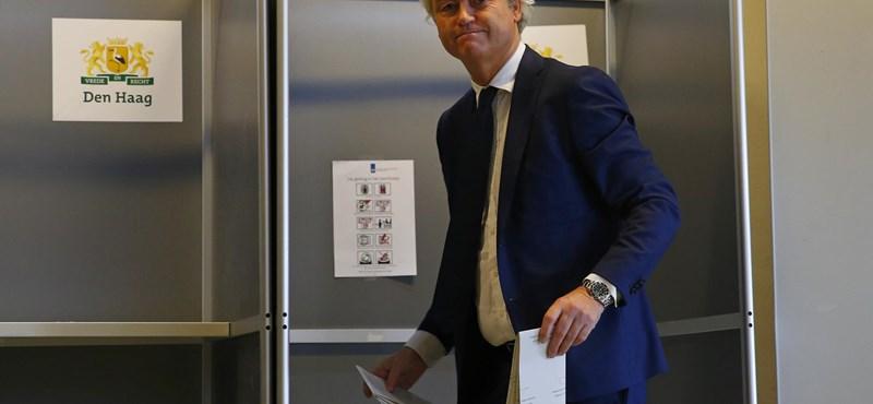 Kemény ellenállásra készül a választáson vesztes Wilders