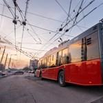 21 új trolibusz áll forgalomba Budapesten