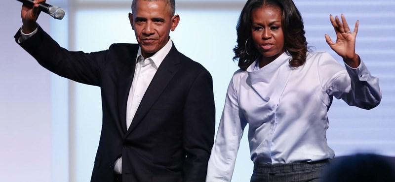 Exkluzív műsora lesz Obamáéknak a Netflixen