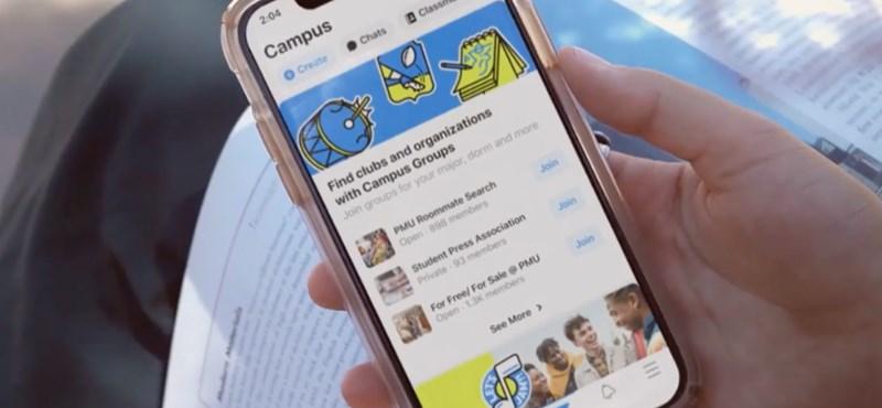 Csinált egy új rendszert a Facebook, egyenesen az egyetemistáknak