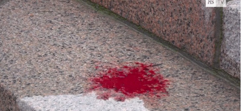 Hasba szúrta magát két ember a finn parlamentnél