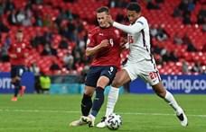 Anglia 45 percig focizott, ennyi elég volt a csehek ellen