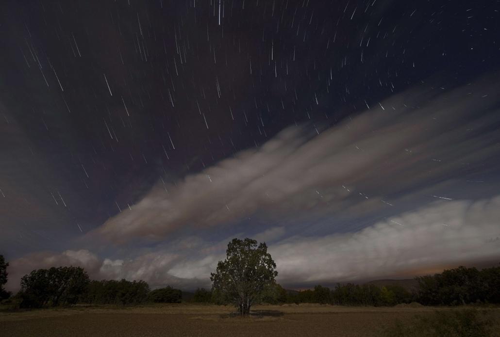 afp. hét képei 0811-0816 - Valle del Lozoya, Spanyolország, 2014.08.12. csillaghullaás