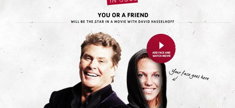 Legyél főszereplő David Hasselhoff filmjében!