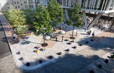 Psota Irén emlékpark lesz a Szigony utcában