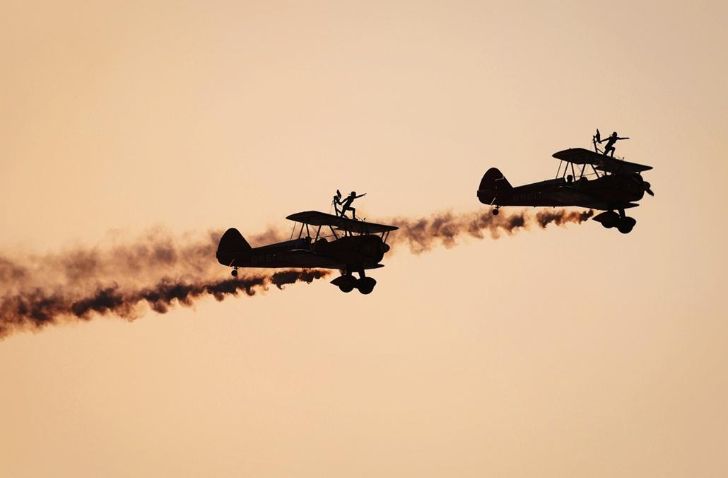 afp. Sakhir, Bahrein, előadás a Bahrain Nemzetközi Légibemutatón