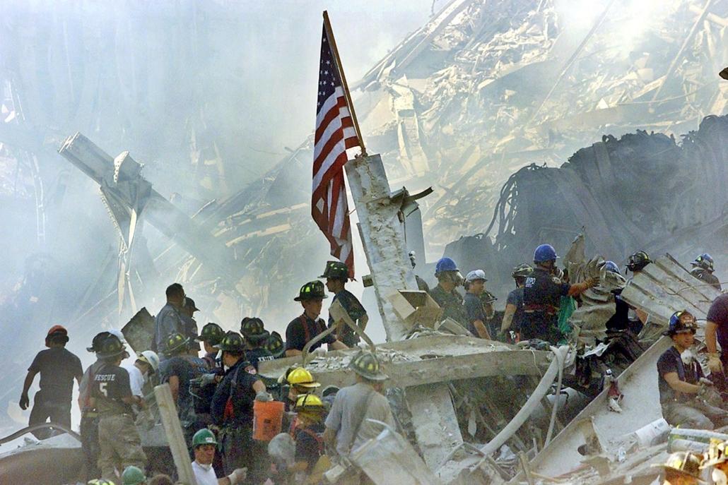 afp.01.09.13. - New York, USA: támadás a világkereskedelmi központ (World Trade Center) ellen- wtc, 911