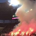 Négy embert őrizetbe vettek az FTC-Újpest focimeccs előtti verekedés miatt