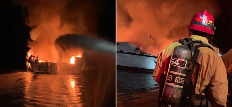 Leégett és elsüllyedt egy hajó, többen meghalhattak