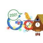 Újév napja a főszereplő ma a Google főoldalán