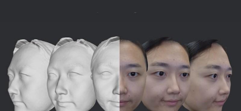 Pár másodperc alatt 3D-ben tapogatja le az arcot ez az eszköz