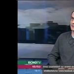 Széles Gábor volt tévéjére förmedt, mert beengedte a kétfarkúakat