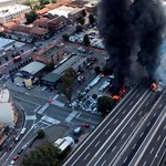 Hatalmas robbanás rázta meg a bolognai reptér környékét – fotók, videó
