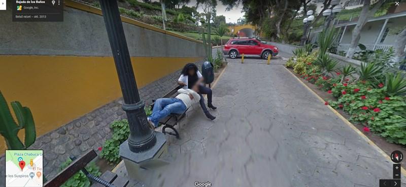 A Google Street View-t böngészve fedezte fel a férj, hogy felesége megcsalja