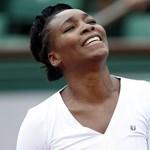 Meglepetés: Venus Williams már a torna elején kiesett