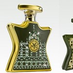 Harrods parfüm Swarovski kristályos üvegben