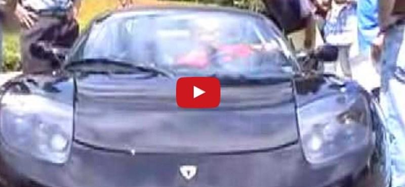 Már 10 éve: így mutatkozott be a Tesla első autója