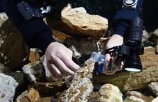 Több mint tízezer éves okkerbányára bukkantak a víz alatt