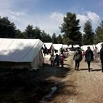 Menekülttáborban is megjelent a koronavírus Görögországban