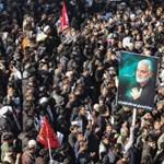 Pánik tört ki Szulejmáni temetésén, 40-en meghaltak