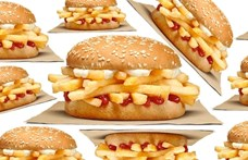 Csak sült krumplival töltött hamburgert dobott piacra a Burger King