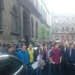 A vártnál többen vehettek részt a reggeli tiltakozásban