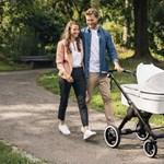 Megjött a segítség kimerült szülők számára: elektromos babakocsit ad ki a Bosch