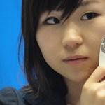 Skin Care mobiltelefon: megvizsgálja a hölgyek bőrének állapotát