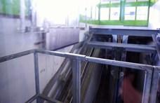 Szokatlan megoldással, föld alatti siklóval akadálymentesítik a 3-as metrót