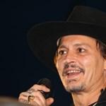 Johnny Depp Trump kivégzésével viccelődött